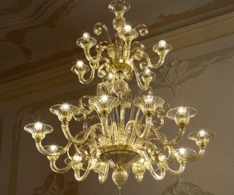 lampadari classici: cristallo, pendenti
