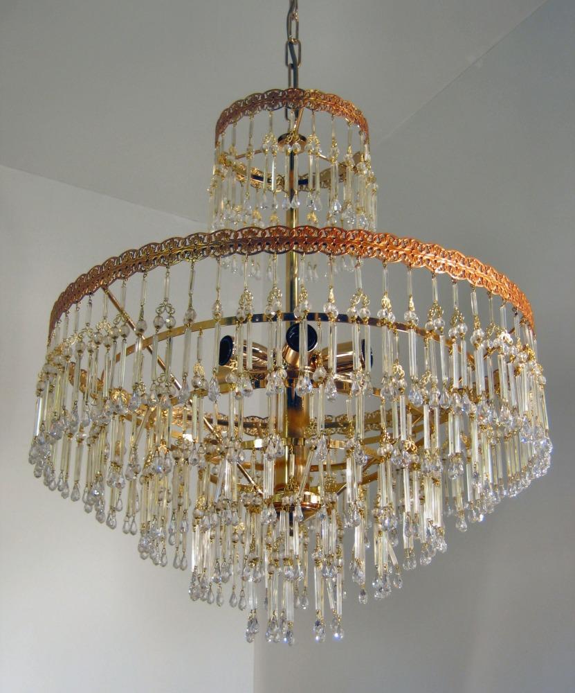 lampadari soggiorno classico: oro, argento, cristallo