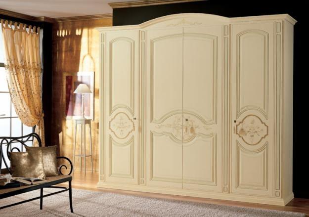 Camere Da Letto Classiche Color Avorio : Armadi classici bianchi avorio