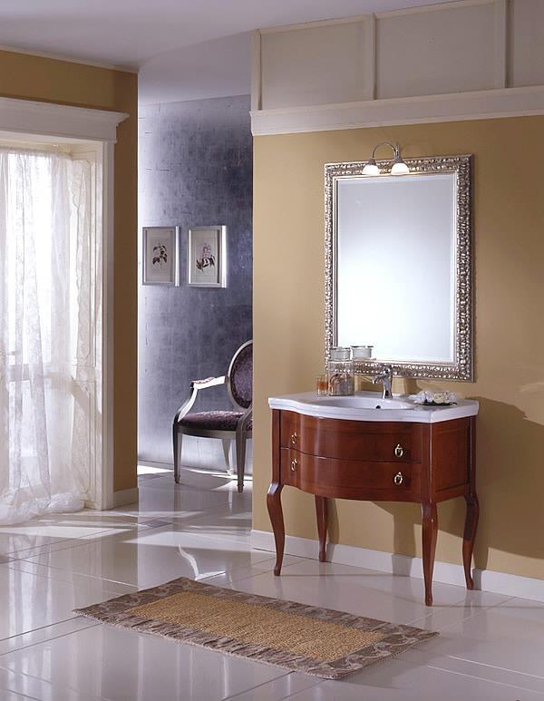 lavabo bagno classico: bianco, da incasso