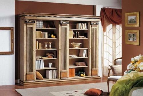 Librerie ufficio classiche maestosit eleganza legno for Librerie piccole dimensioni