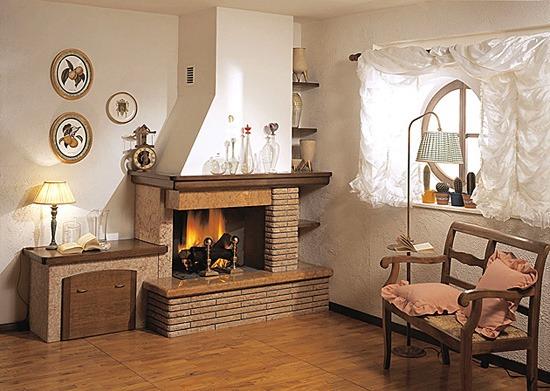 riscaldamento classico: caminetto, stufa, termosifone