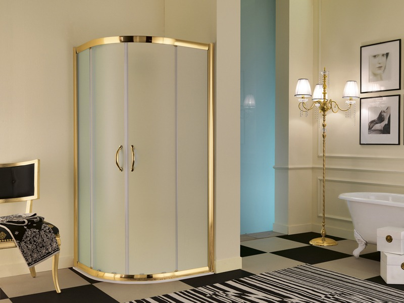 Box doccia classico vetro struttura robusta - Bagni classici con doccia ...