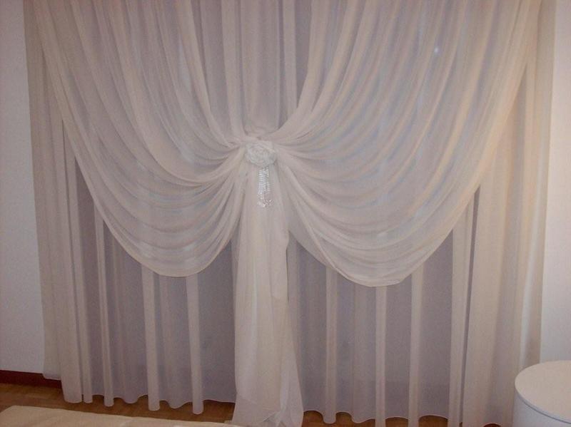 Tende classiche doppio velo tessuto pregiato seta - Tende da camera da letto classiche ...