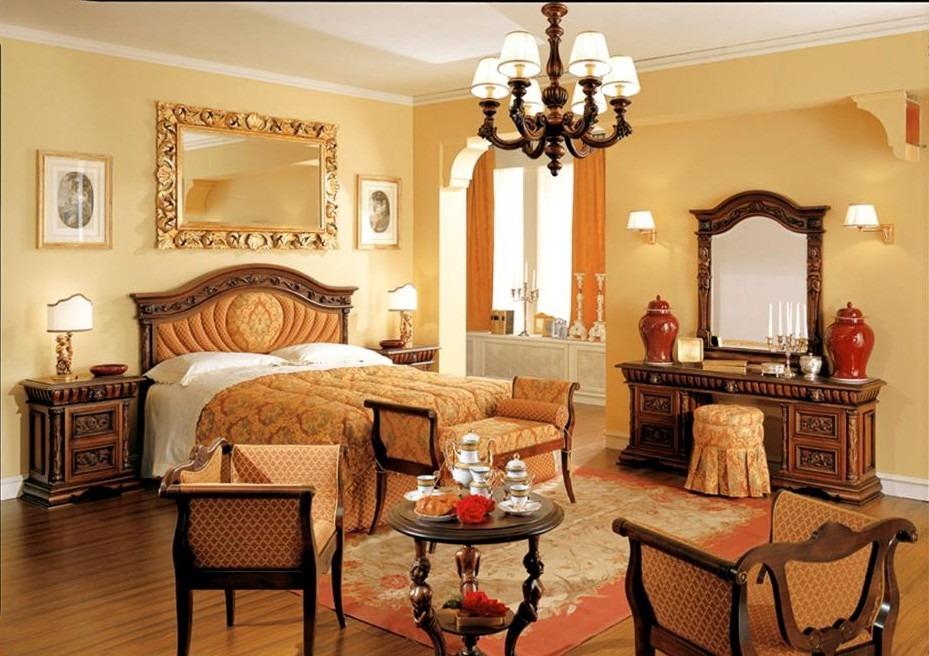 Camera da letto classica mobili letti armadi complementi - Tende da camera da letto classiche ...