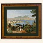 Cromolitografia -Napoli dalla collina di Posillipo 900 small