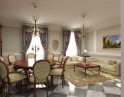 Illuminazione soggiorno classico
