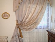 Tende camera da letto classica