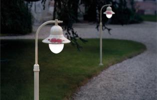 Illuminazione da giardino classica