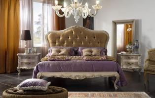 Pareti camera da letto classiche